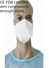 High Filter Efficiency Antibacterial Face Mask Special Design Without Valve