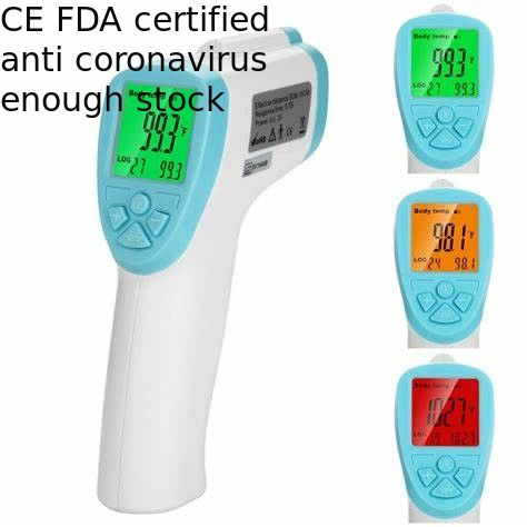 Quick Delivery Non Contact Body Thermometer , Digital Temperature Thermometer